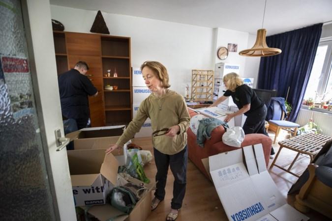 Laatste bewoonster vertrekt uit appartementen Geleen-Zuid