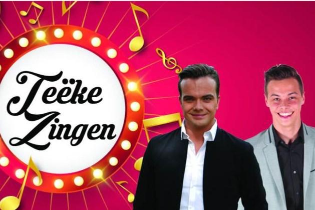 Open air concert 'teëke zinge' door Sám en Stan