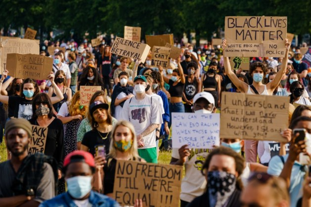 Opnieuw demonstratie Black Lives Matter op het Malieveld