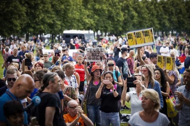 'Groepsknuffel op Malieveld is provocatie rechtsstaat'