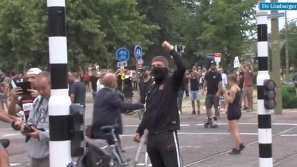 Video: Ruim 400 aanhoudingen na uit de hand gelopen coronaprotest Den Haag