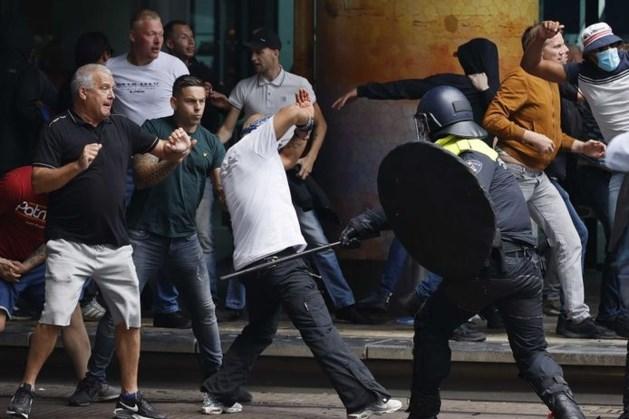 Hooligans uit heel het land maakten plannen voor Haagse rellen: 'Ze wilden vechten met politie'