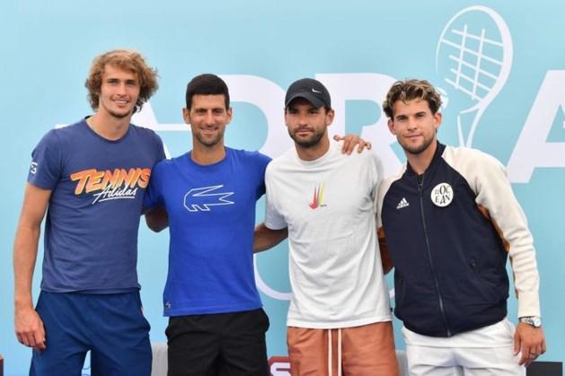 Novak Djokovic positief getest op coronavirus na eigen tennistoernooi