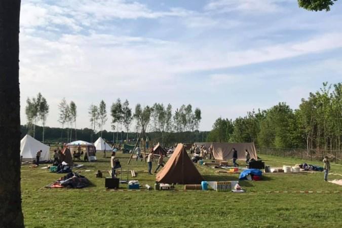 Scouts Schinnen vieren 75-jarig jubileum in een 'bubbel'