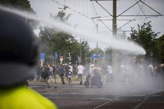 Nog acht mensen vast na 'grof geweld' rond protest in Den Haag