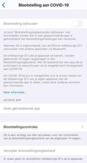 Ineens een 'corona-app' op je telefoon na een update? Zo zit het écht