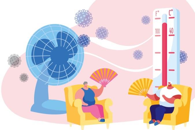 Hitte in het verzorgingshuis tijdens coronacrisis: voorzichtig met ventilators