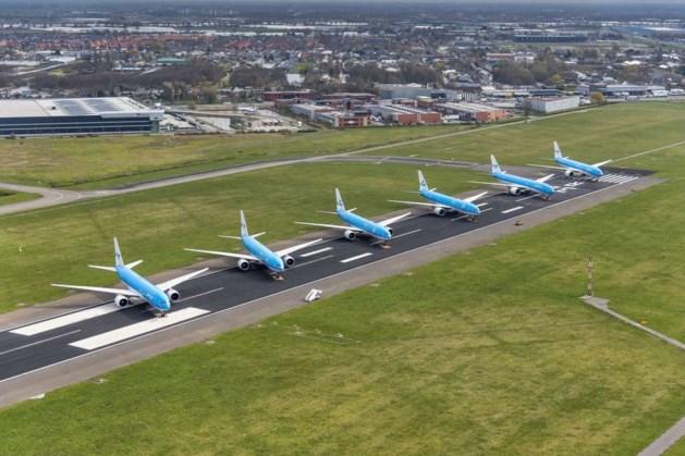 LIVE | Geparkeerde vliegtuigen Schiphol weer weg