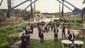 Philharmonie zuidnederland neemt clip op in Toverland