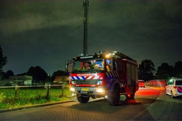Politie zoekt man en vrouw in onderzoek naar brandstichting in zendmast Roermond