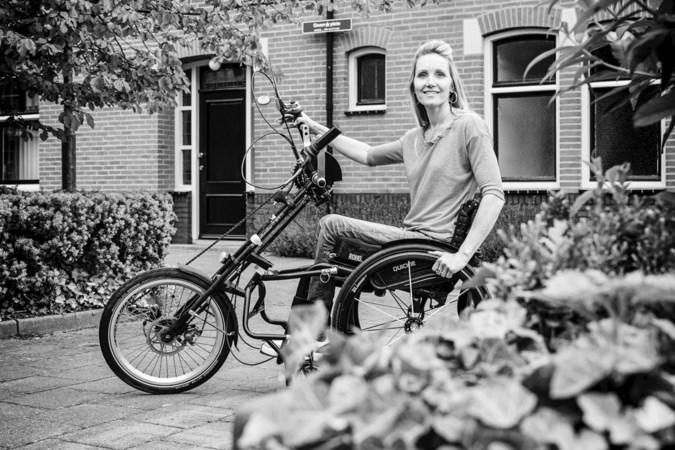 Dankzij pa's bikkel-DNA is Gwen van Rosmalen geen berg te hoog