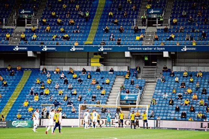 Zo zitten we straks in het stadion: hoera fluisteren bij een goal