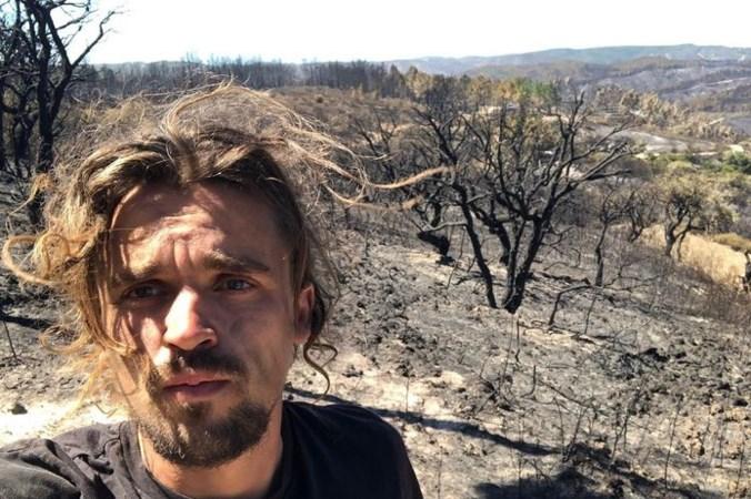 Jeroen (27) uit Brunssum verliest alles bij natuurbrand Portugal, maar niet zijn droom: 'Ben hier om te leren'