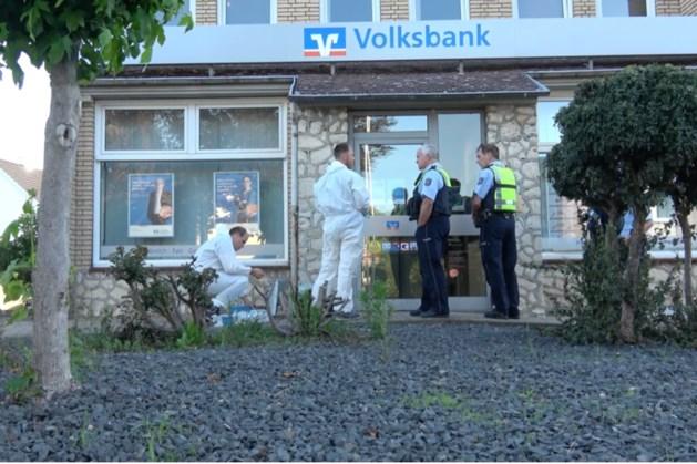 Mislukte plofkraak Volksbank in Tüddern