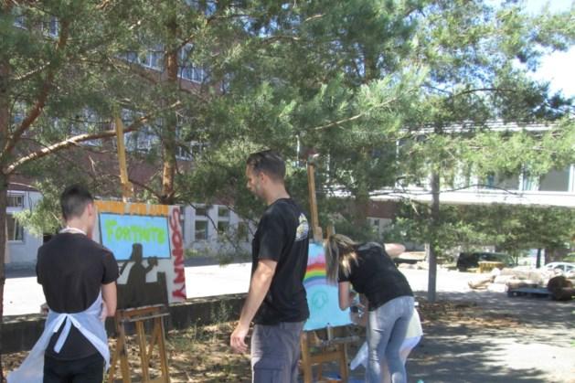 Graffitiproject in Kerkrade zorgt voor zorgeloos plezier
