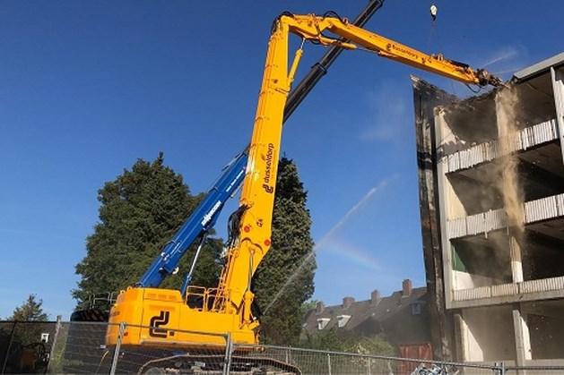 Sloop voormalige HTS in Heerlen maakt ruimte voor 13 woningen