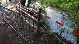 Afbrokkelend voetpad langs Geul wordt acht meter opgeschoven
