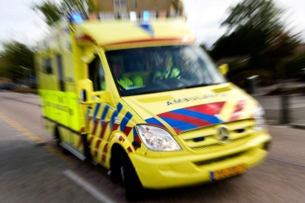 Motorrijder rijdt door na ongeval met wielrenner