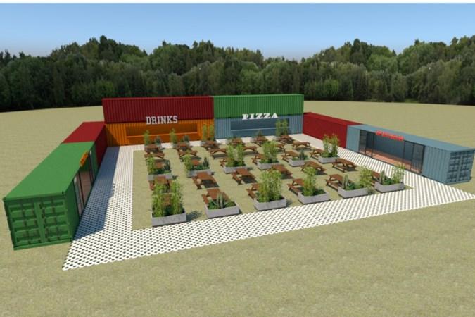 Bouw speeltuin voor volwassenen langs A67 met indoorsurfbaan door corona uitgesteld; alternatief wordt zeecontainerpark met spelletjes