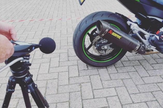 Motorrijders vanwege lawaai bekeurd in het Heuvelland