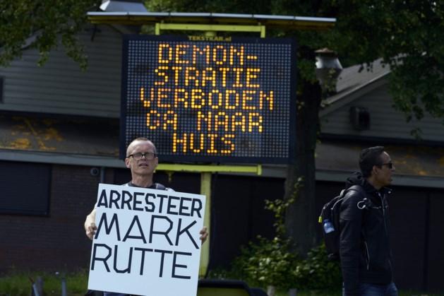 Noodbevel voor verboden protest op Malieveld, meerdere betogers opgepakt