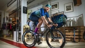 De fiets als statement: Brian Megens uit Maastricht vond in 'fixed gear biking' een nieuwe passie