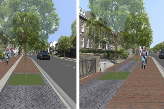 Twee varianten voor reconstructie drukke Tongerseweg in Maastricht, beide zonder oude lindebomen