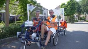 Coronaproof gemaakte fietsen Leefbaarheid Stramproy slaan aan; 'je ziet de mensen echt opleven'