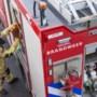 Logistiek bedrijf enige tijd ontruimd vanwege brand