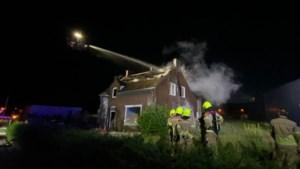 Uitslaande brand in leegstaande woning die gesloopt zou worden