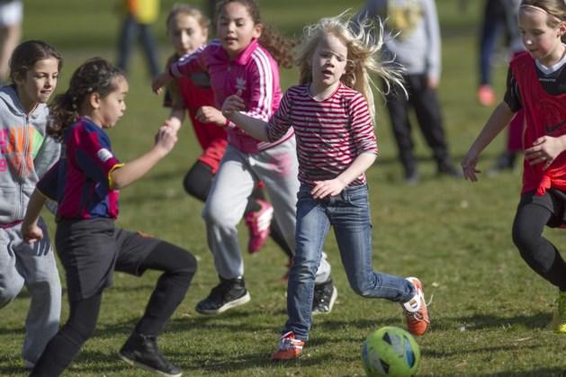 Meidendag bij voetbalvereniging Sporting Heerlen