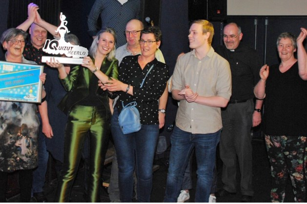 Titelverdediger wint Meerlose dorpsquiz voor tweede jaar op rij