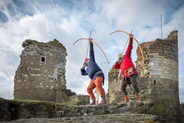 Middeleeuwen herleven voor even op kasteel Montfort