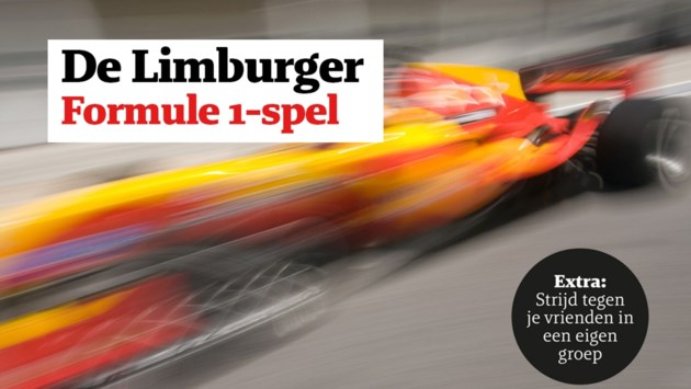 Speel gratis mee met het Formule 1-spel en win mooie prijzen!