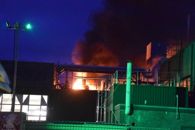 Uitslaande brand in fabriek Aviko in Lomm