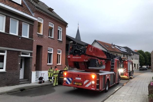 Woningbrand in Voerendaal, bewoners op tijd in veiligheid