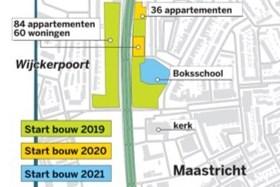 Meer stadswoningen met tuintje bij vroegere Boksschool Maastricht
