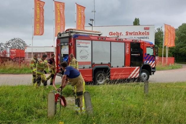 Brand op industrieterrein De Beitel in Heerlen