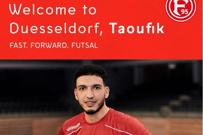 Taoufik Chadli gaat van Tigers Roermond naar Fortuna Düsseldorf Futsal