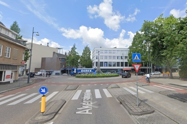 Rotonde Putgraaf in Heerlen deels afgesloten wegens aanleg mijnwaterleiding