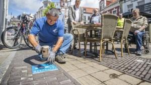 Blauwe symbooltegels moeten Venlose stoepen vrijhouden voor blinden en slechtzienden