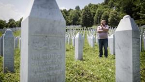 Kogelgaten in Srebrenica weggewerkt, etnische spanningen zijn gebleven