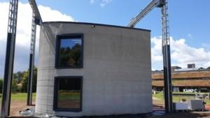 Primeur: 3D-betonprinter bouwt voor het eerst huis met twee verdiepingen