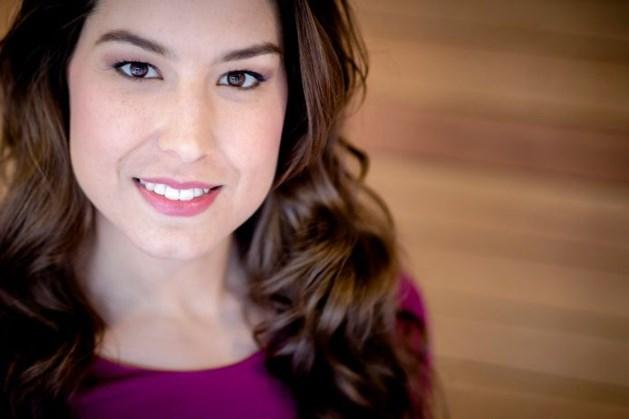Nieuwslezeres Amber Brantsen onwel tijdens NOS Journaal