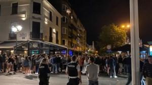Feestvierende Nederlanders zetten Belgisch kustplaatsje op stelten
