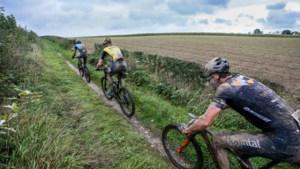 Moutainbikeroutes in Zuid-Limburg als skipistes: kleur geeft de zwaarte aan