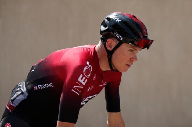 Froome verruilt Ineos na seizoen voor Israel Cycling Academy