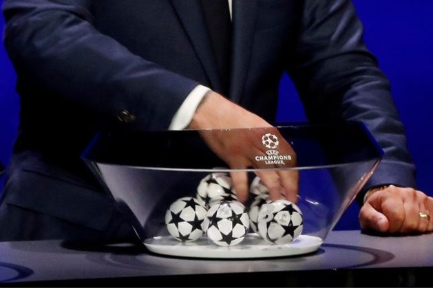 Diverse krakers op het programma in de Champions League na loting