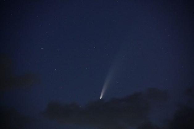 Zeldzaam: komeet NEOWISE met blote oog te zien