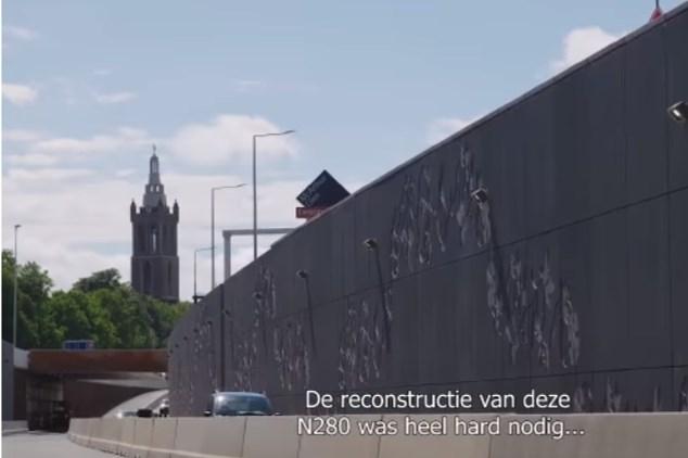 Video: Tunnelbak N280 Roermond open voor verkeer